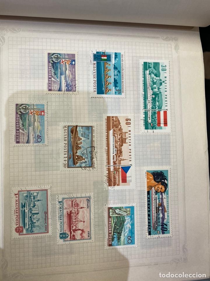Sellos: Álbum de sellos antiguos internacional - Foto 22 - 253626690