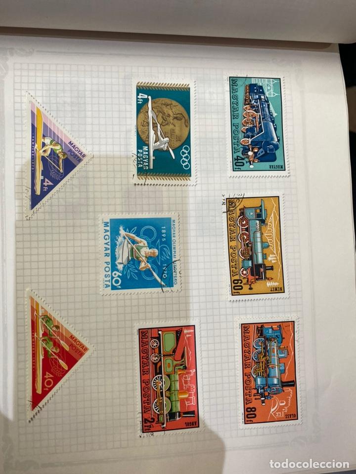 Sellos: Álbum de sellos antiguos internacional - Foto 26 - 253626690