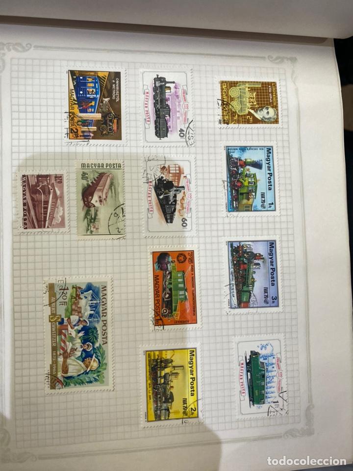 Sellos: Álbum de sellos antiguos internacional - Foto 28 - 253626690