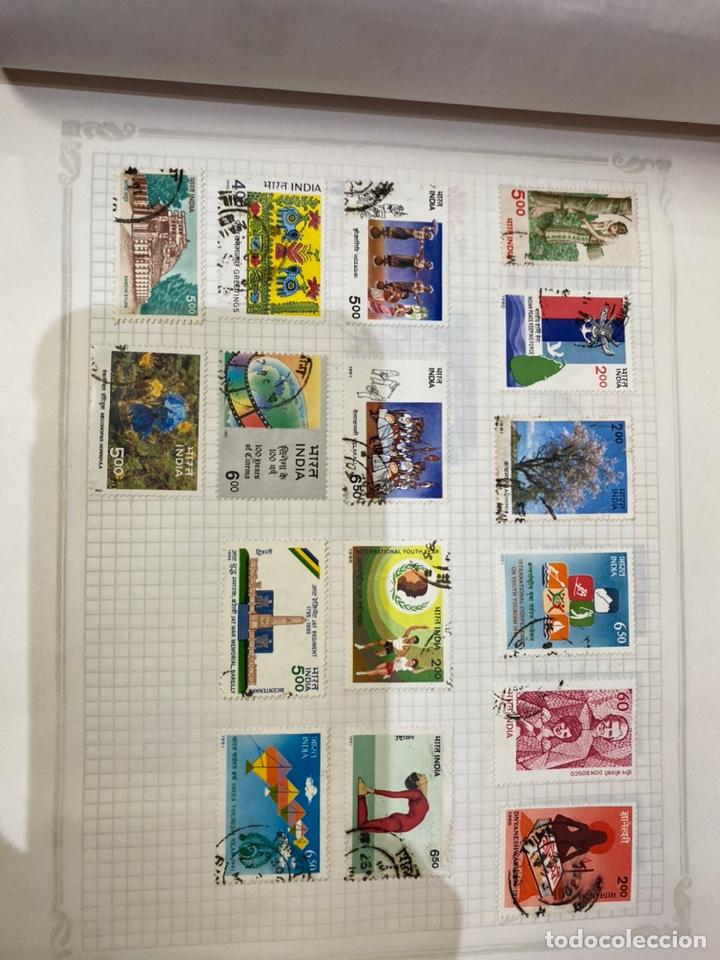 Sellos: Álbum de sellos antiguos internacional - Foto 33 - 253626690