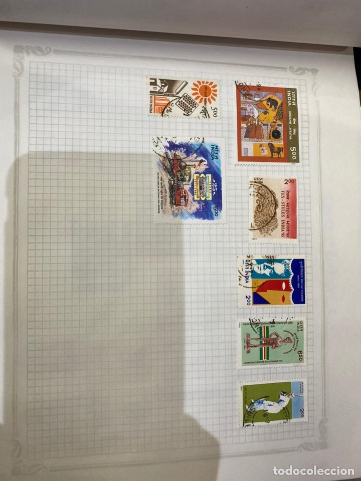 Sellos: Álbum de sellos antiguos internacional - Foto 34 - 253626690