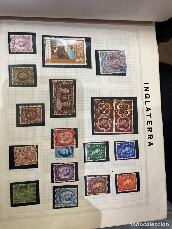 Sellos: Álbum de sellos antiguos internacional - Foto 37 - 253626690
