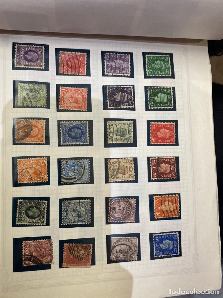 Sellos: Álbum de sellos antiguos internacional - Foto 38 - 253626690
