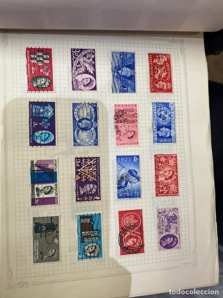 Sellos: Álbum de sellos antiguos internacional - Foto 39 - 253626690