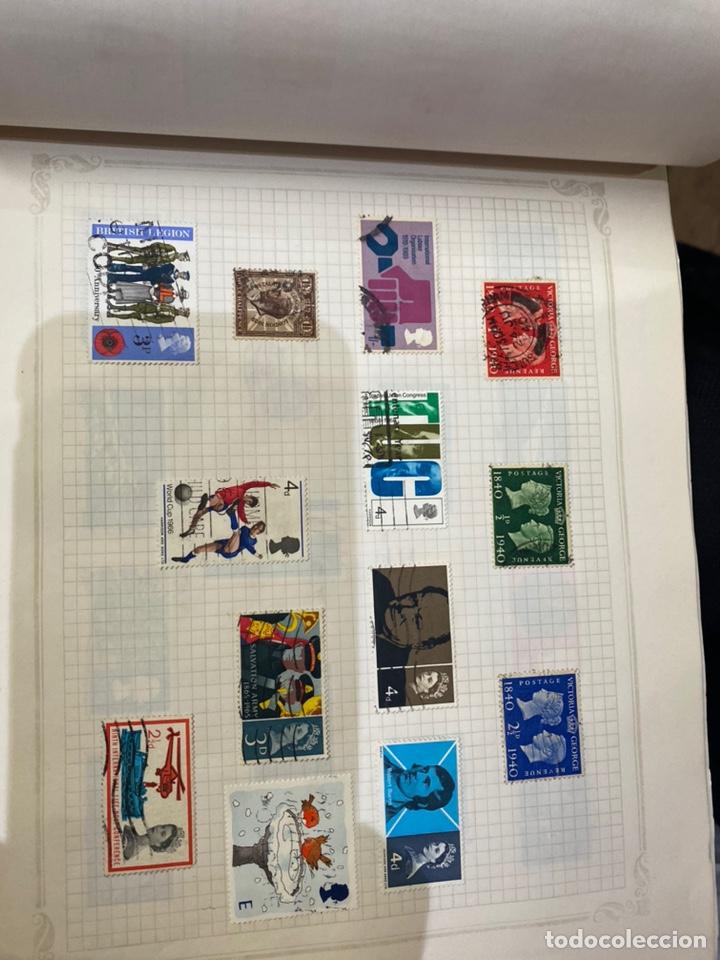 Sellos: Álbum de sellos antiguos internacional - Foto 40 - 253626690