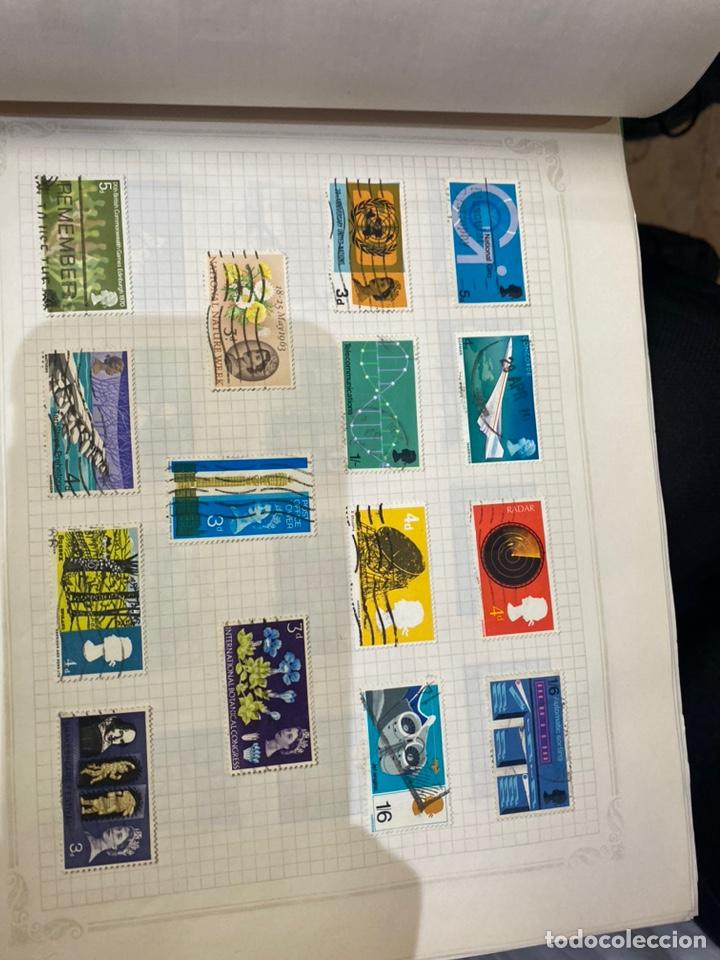 Sellos: Álbum de sellos antiguos internacional - Foto 41 - 253626690