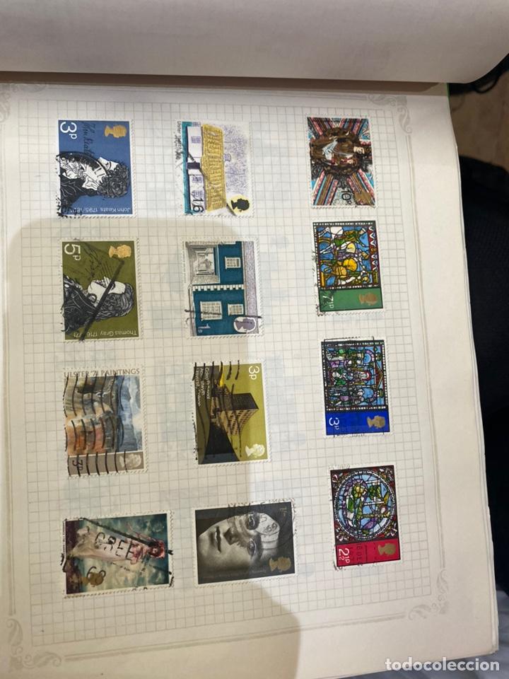 Sellos: Álbum de sellos antiguos internacional - Foto 42 - 253626690