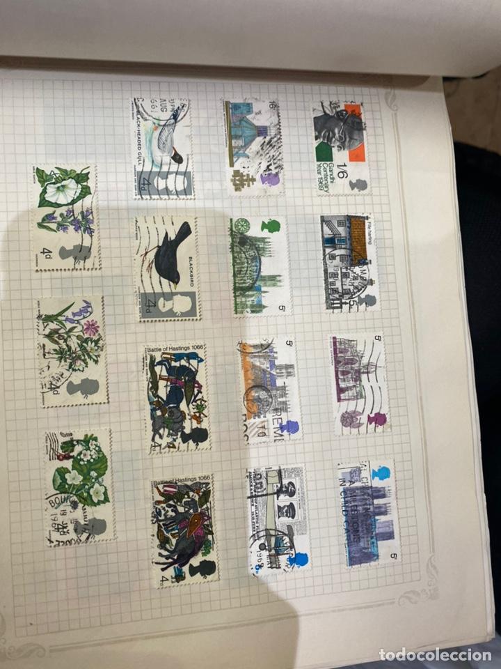 Sellos: Álbum de sellos antiguos internacional - Foto 43 - 253626690