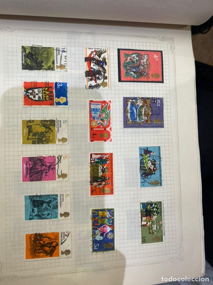 Sellos: Álbum de sellos antiguos internacional - Foto 44 - 253626690