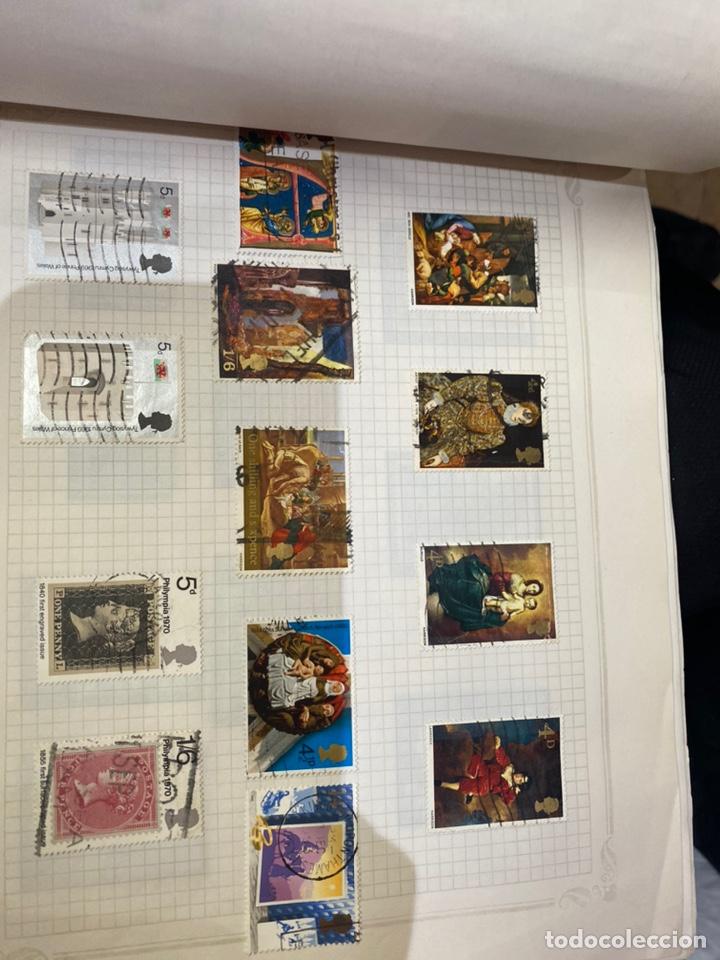 Sellos: Álbum de sellos antiguos internacional - Foto 45 - 253626690