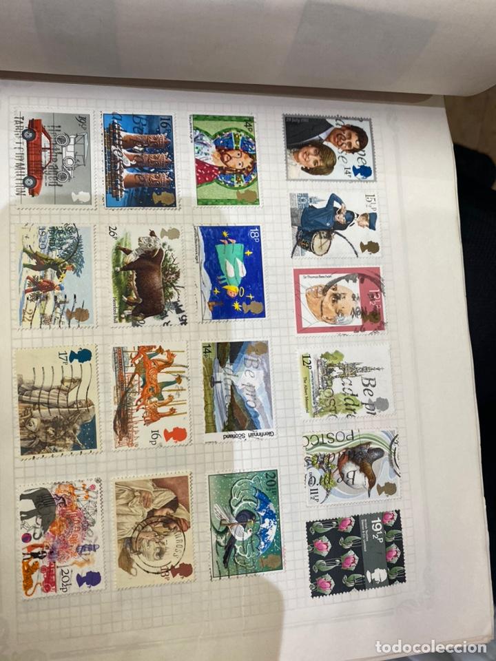 Sellos: Álbum de sellos antiguos internacional - Foto 47 - 253626690