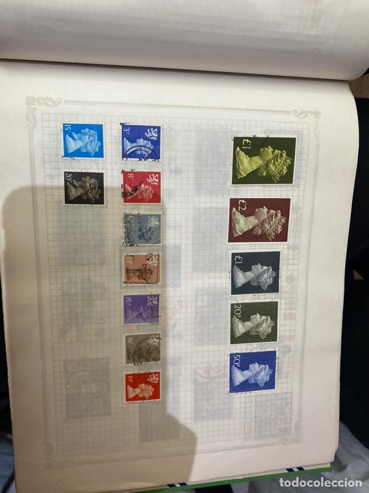 Sellos: Álbum de sellos antiguos internacional - Foto 53 - 253626690