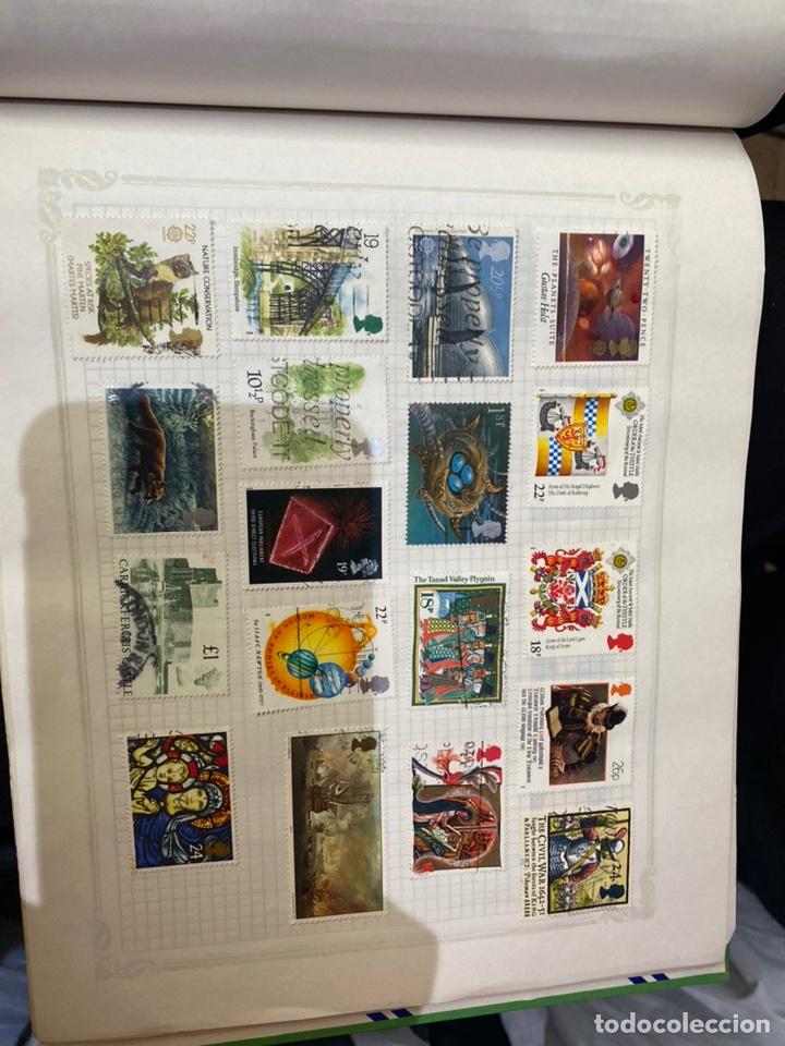 Sellos: Álbum de sellos antiguos internacional - Foto 54 - 253626690