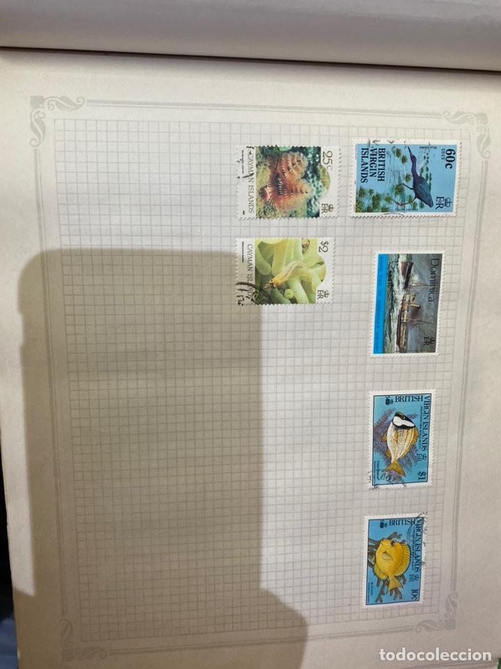 Sellos: Álbum de sellos antiguos internacional - Foto 55 - 253626690