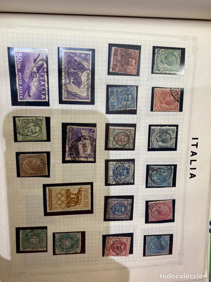 Sellos: Álbum de sellos antiguos internacional - Foto 60 - 253626690