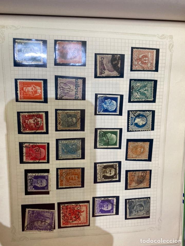 Sellos: Álbum de sellos antiguos internacional - Foto 61 - 253626690