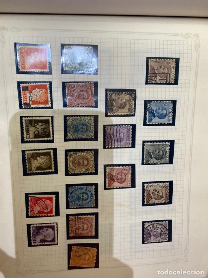 Sellos: Álbum de sellos antiguos internacional - Foto 62 - 253626690