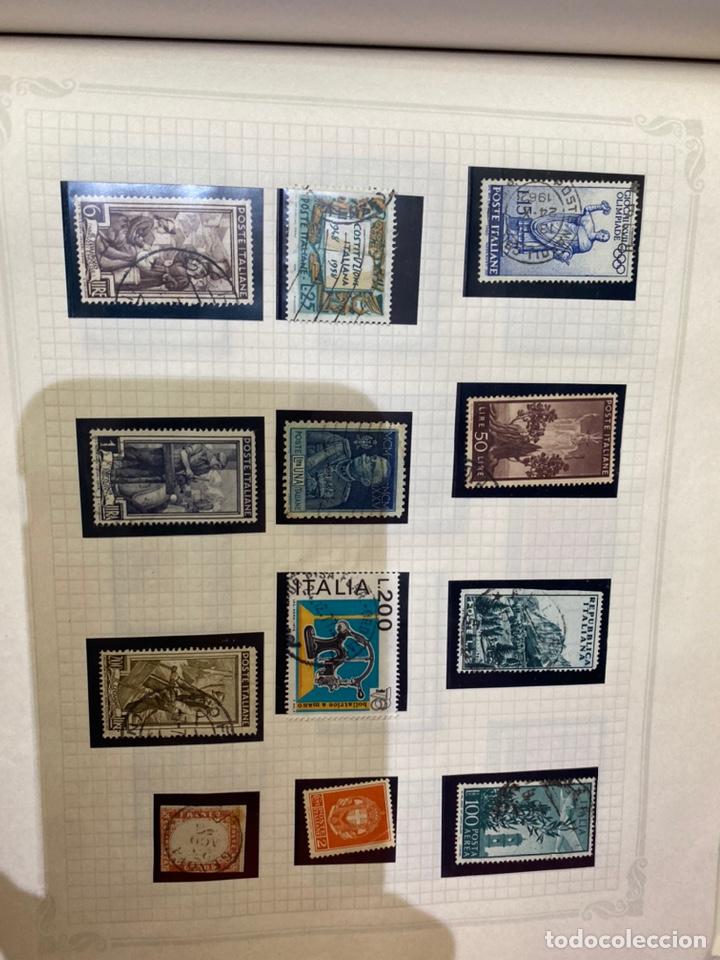 Sellos: Álbum de sellos antiguos internacional - Foto 64 - 253626690