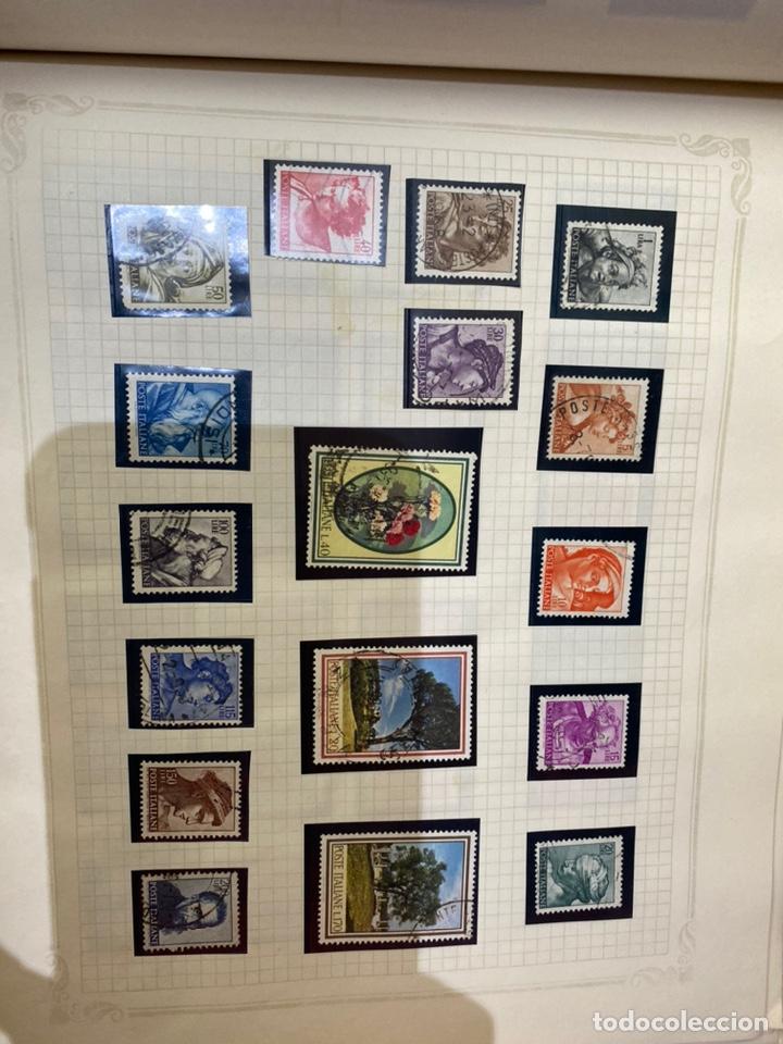 Sellos: Álbum de sellos antiguos internacional - Foto 67 - 253626690