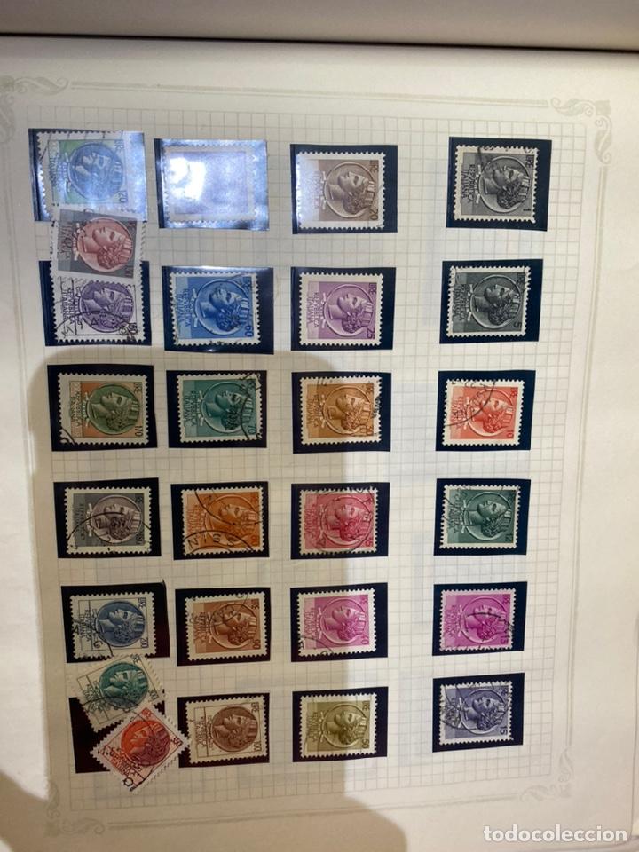 Sellos: Álbum de sellos antiguos internacional - Foto 68 - 253626690