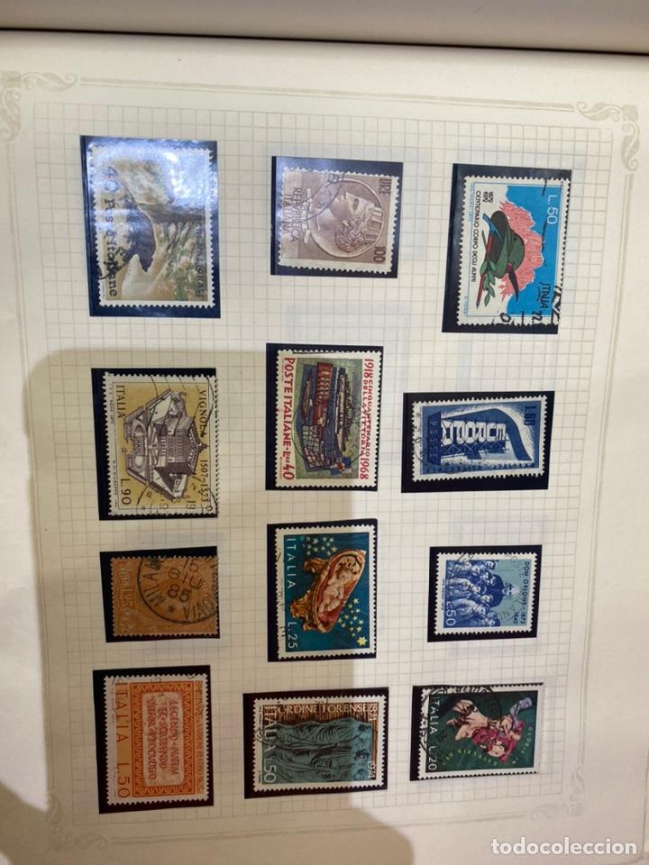 Sellos: Álbum de sellos antiguos internacional - Foto 69 - 253626690