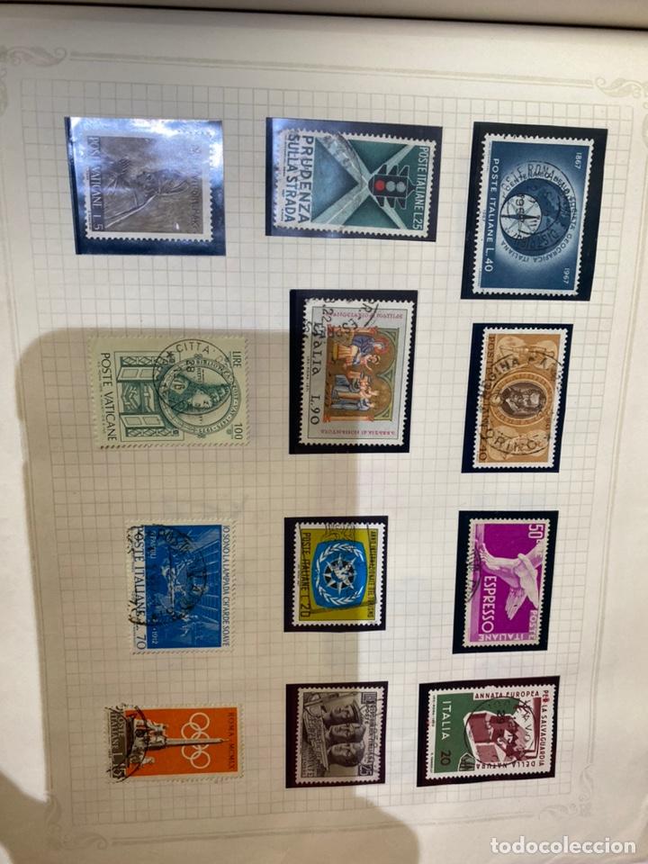 Sellos: Álbum de sellos antiguos internacional - Foto 70 - 253626690