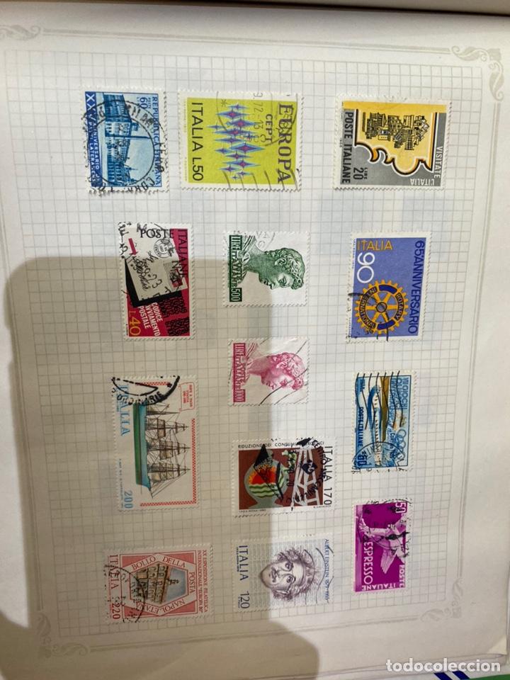 Sellos: Álbum de sellos antiguos internacional - Foto 71 - 253626690