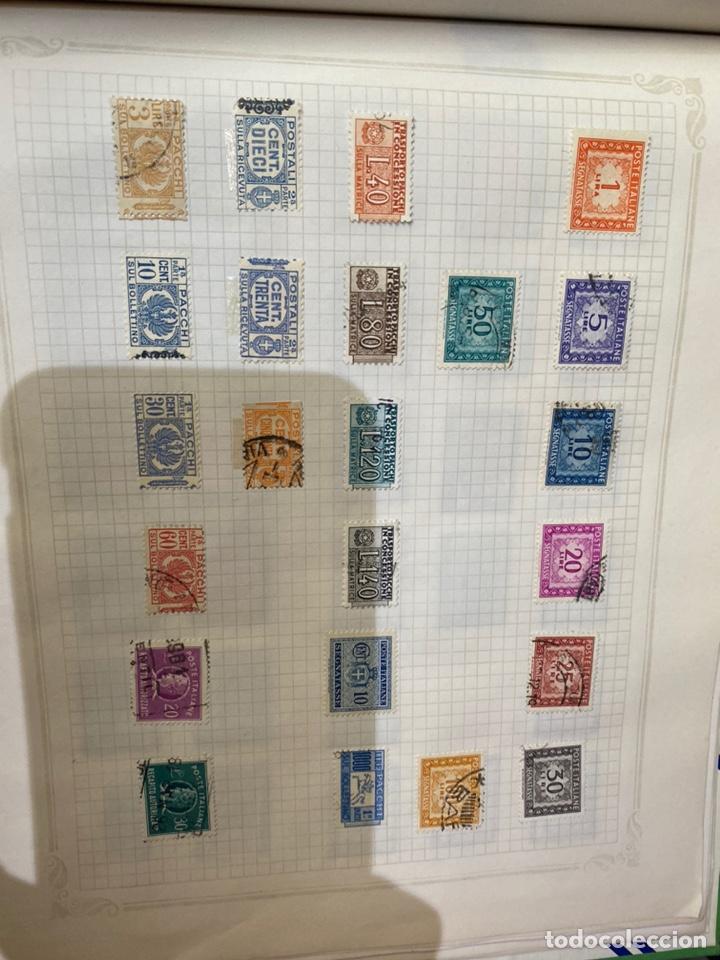 Sellos: Álbum de sellos antiguos internacional - Foto 72 - 253626690