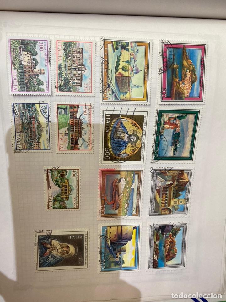 Sellos: Álbum de sellos antiguos internacional - Foto 77 - 253626690