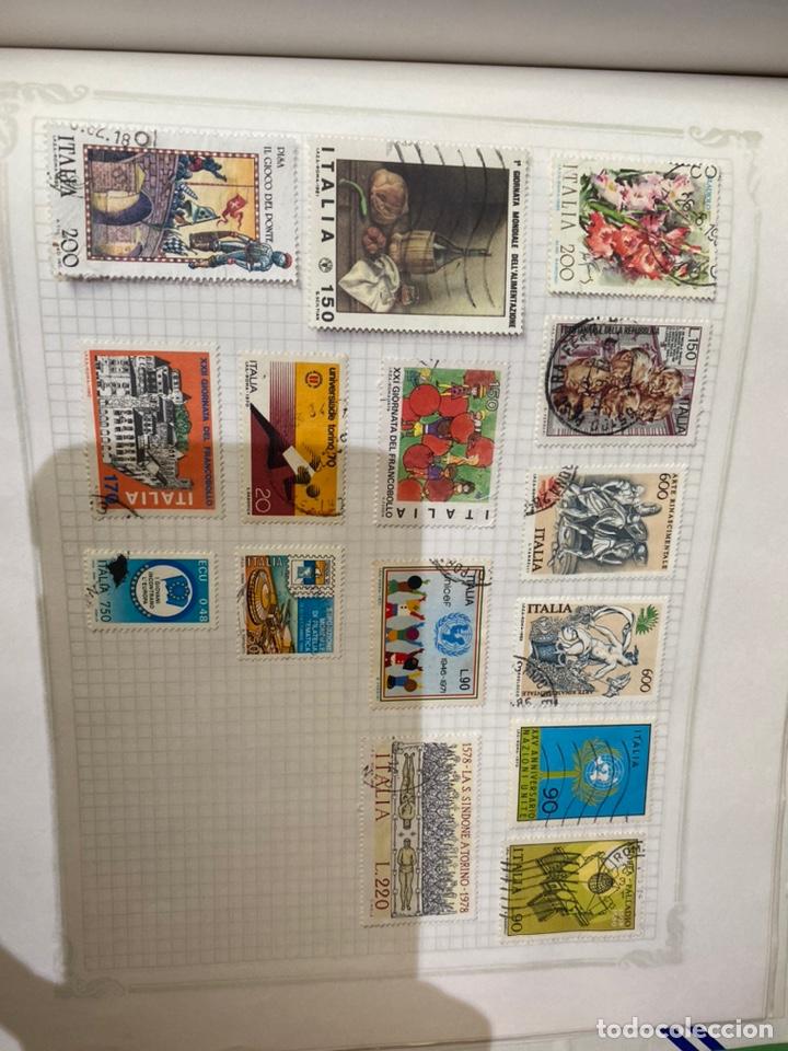 Sellos: Álbum de sellos antiguos internacional - Foto 79 - 253626690