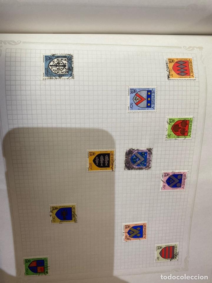 Sellos: Álbum de sellos antiguos internacional - Foto 81 - 253626690