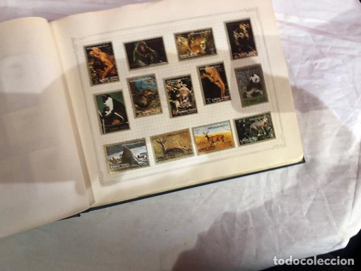 Sellos: Álbum de sellos antiguo internacional - Foto 5 - 253628555