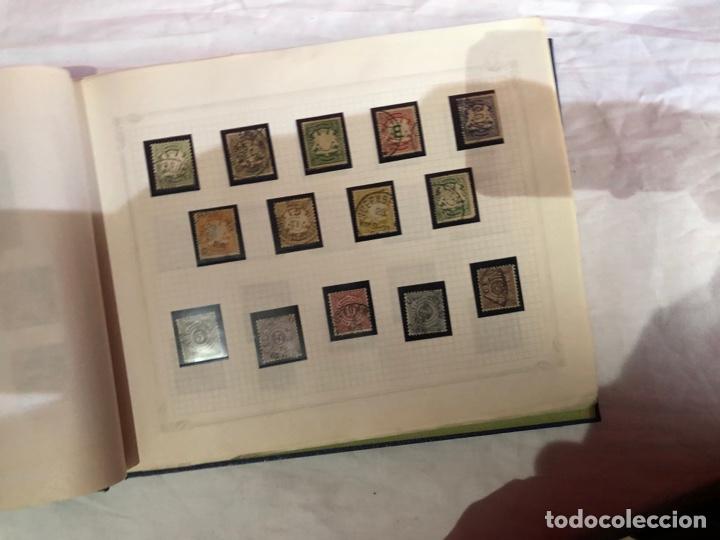 Sellos: Álbum de sellos antiguo internacional - Foto 11 - 253628555