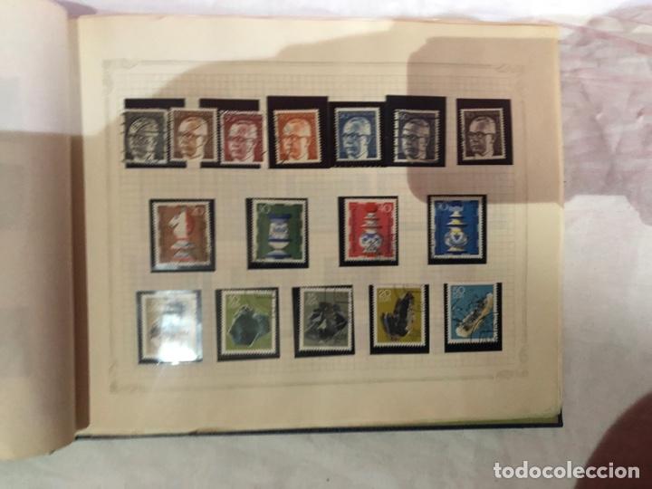 Sellos: Álbum de sellos antiguo internacional - Foto 13 - 253628555
