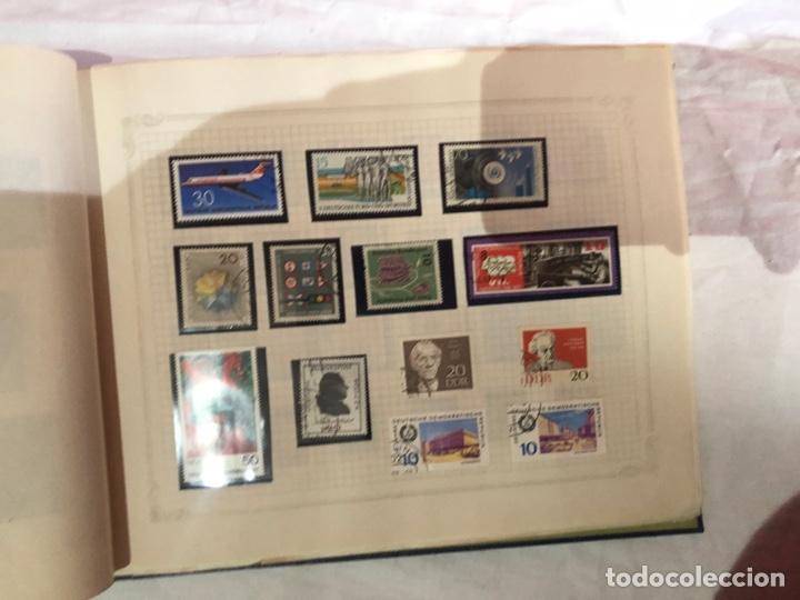 Sellos: Álbum de sellos antiguo internacional - Foto 14 - 253628555