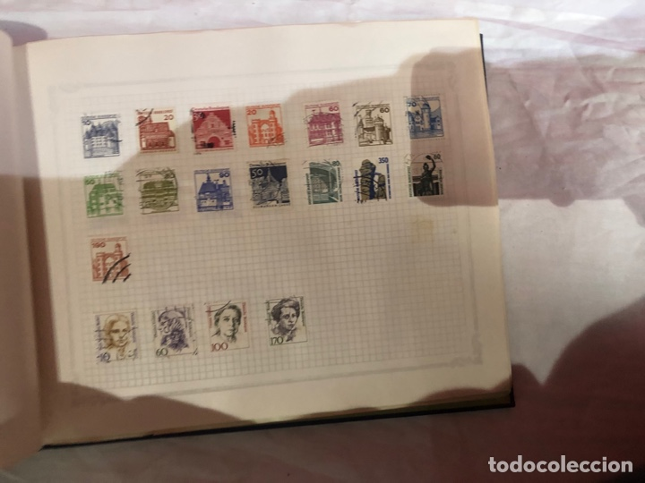 Sellos: Álbum de sellos antiguo internacional - Foto 18 - 253628555