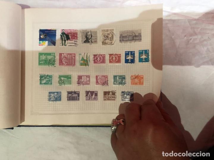 Sellos: Álbum de sellos antiguo internacional - Foto 21 - 253628555