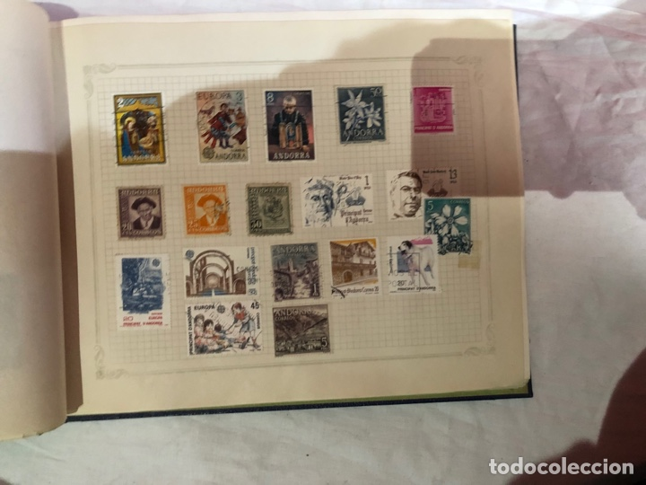 Sellos: Álbum de sellos antiguo internacional - Foto 27 - 253628555