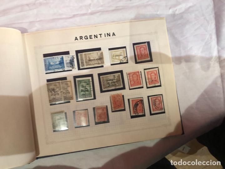 Sellos: Álbum de sellos antiguo internacional - Foto 32 - 253628555