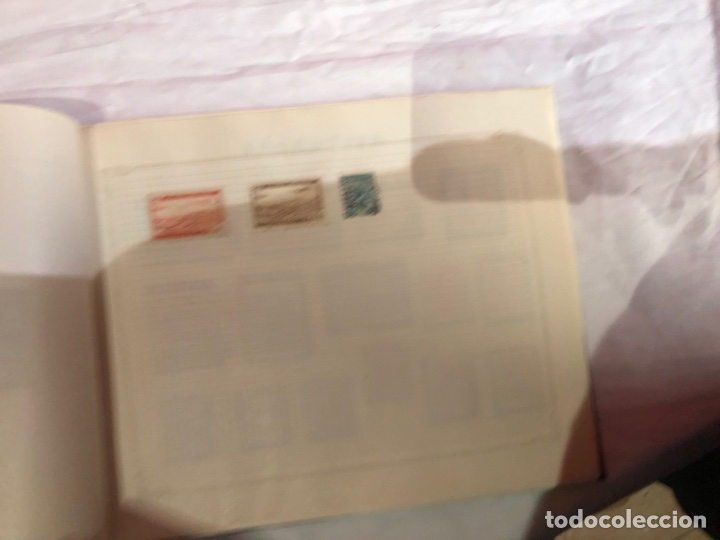 Sellos: Álbum de sellos antiguo internacional - Foto 35 - 253628555