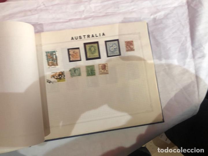 Sellos: Álbum de sellos antiguo internacional - Foto 41 - 253628555