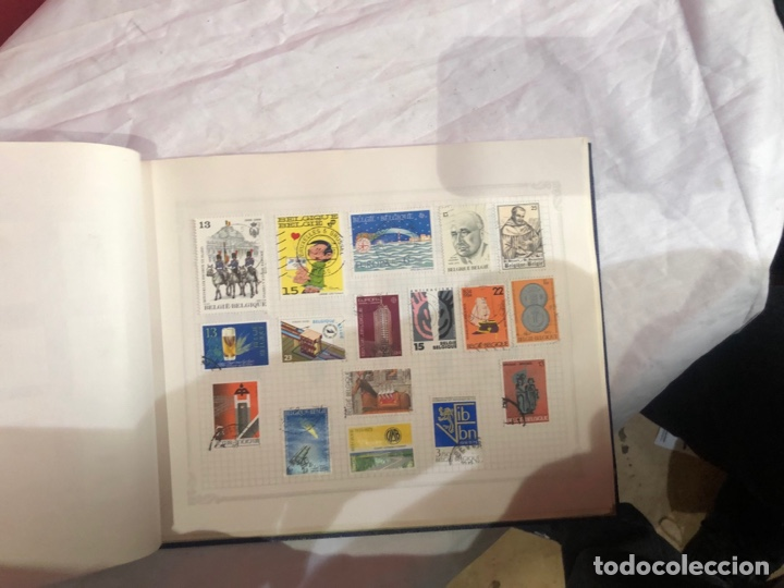Sellos: Álbum de sellos antiguo internacional - Foto 49 - 253628555