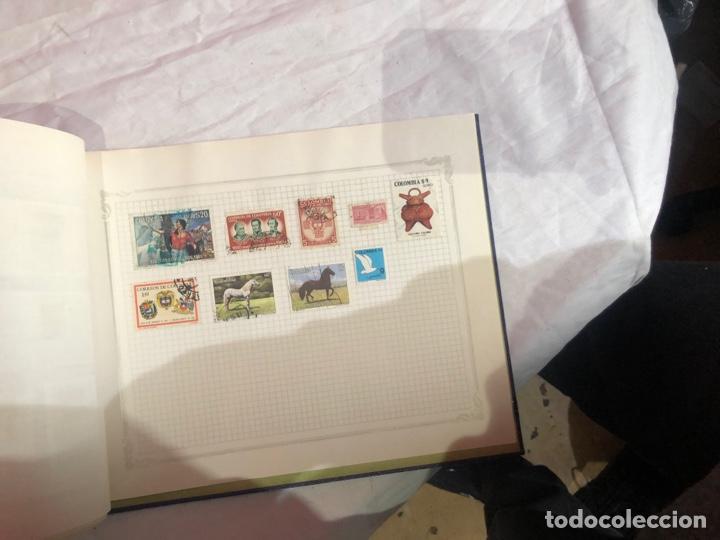 Sellos: Álbum de sellos antiguo internacional - Foto 82 - 253628555