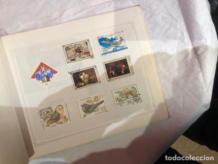 Sellos: Album de sellos antiguo internacional - Foto 49 - 253629060