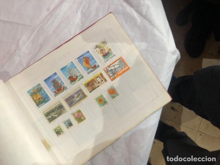 Sellos: Album de sellos antiguo internacional - Foto 65 - 253629060