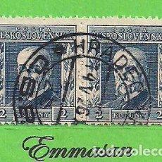 Sellos: CHECOSLOVAQUIA - MICHEL 229Y - YVERT 200 - PRESIDENTE MASARYK. (1925).. Lote 254218995