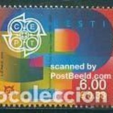 Sellos: SELLO USADO DE ESTONIA 2006, YT 507. Lote 254684050