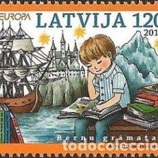 Sellos: SELLO USADO DE LETONIA 2010, YT 756. Lote 254684405