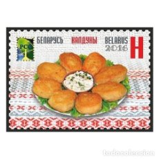 Sellos: ⚡ DISCOUNT BELARUS 2016 NATIONAL CUISINE MNH - FOOD. Lote 255656315
