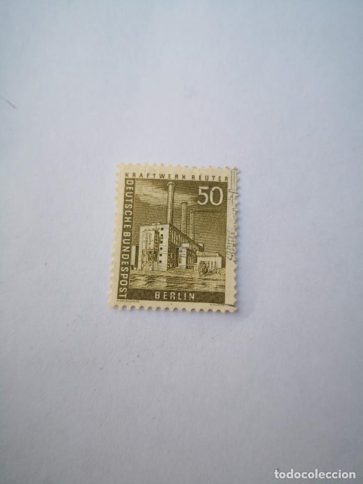 SELLO BERLIN 50 1956 DEUTSCHE BUNDESPOST (Sellos - Extranjero - Europa - Otros paises)